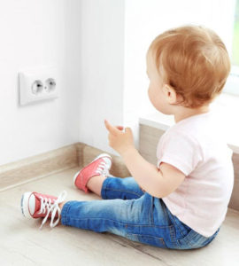 protect babies from electrical outlets