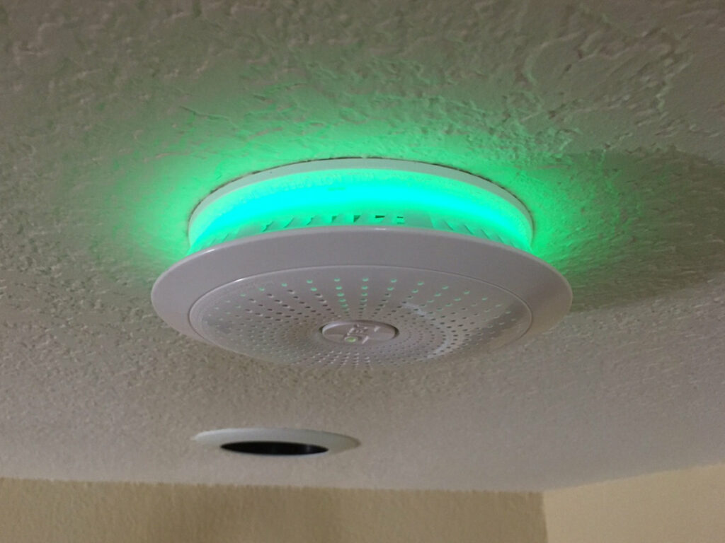 installing smoke alarms for safety