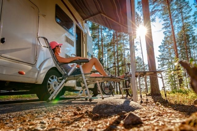 camping using rv